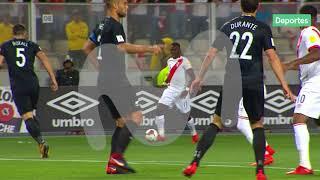 Perú vs. Nueva Zelanda: Advíncula tuvo la primera del partido