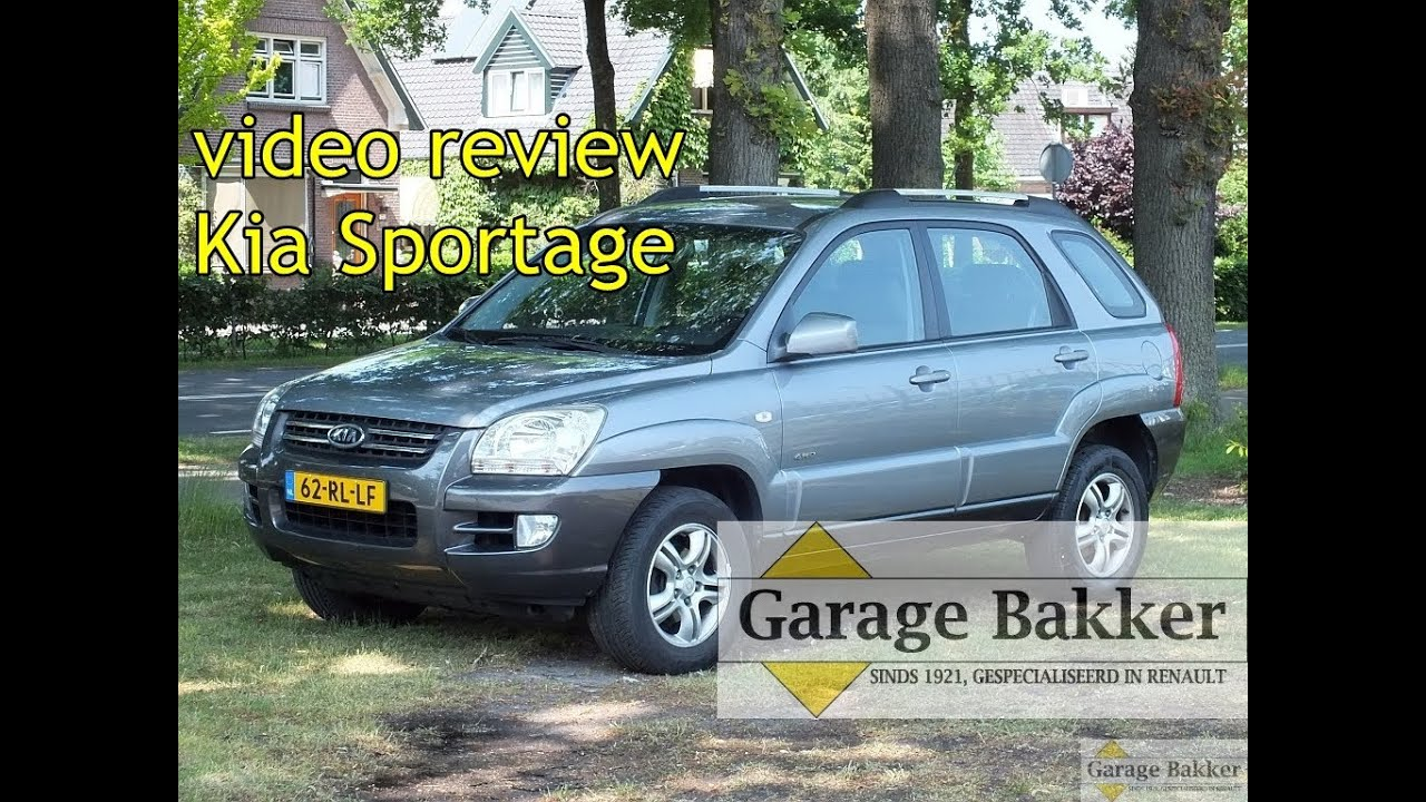 video review kia sportage 2 7 v6 automaat 4wd adventure. Black Bedroom Furniture Sets. Home Design Ideas