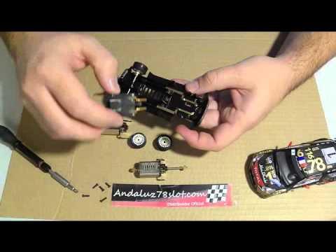 Digitalizar Coches Scalextric Rally 4×4