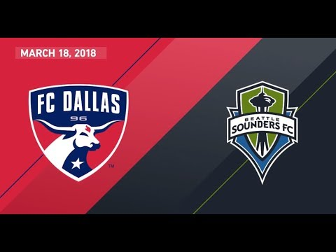 HIGHLIGHTS: FC Dallas 3, Seattle Sounders FC 0 | March 18, 2018
