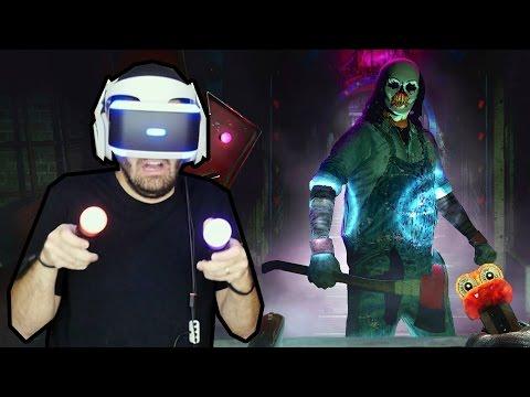 UNTIL DAWN: RUSH OF BLOOD - Eu ODEIO Palhaços!!! (Gameplay com PlayStation VR)