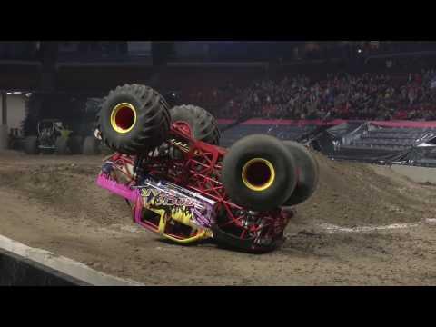All Star Monster Truck Tour 2/10/17 Highlights