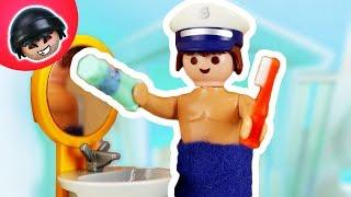 KARLCHEN KNACK - Tonis aufregende Morgenroutine - Playmobil Polizei Film #31