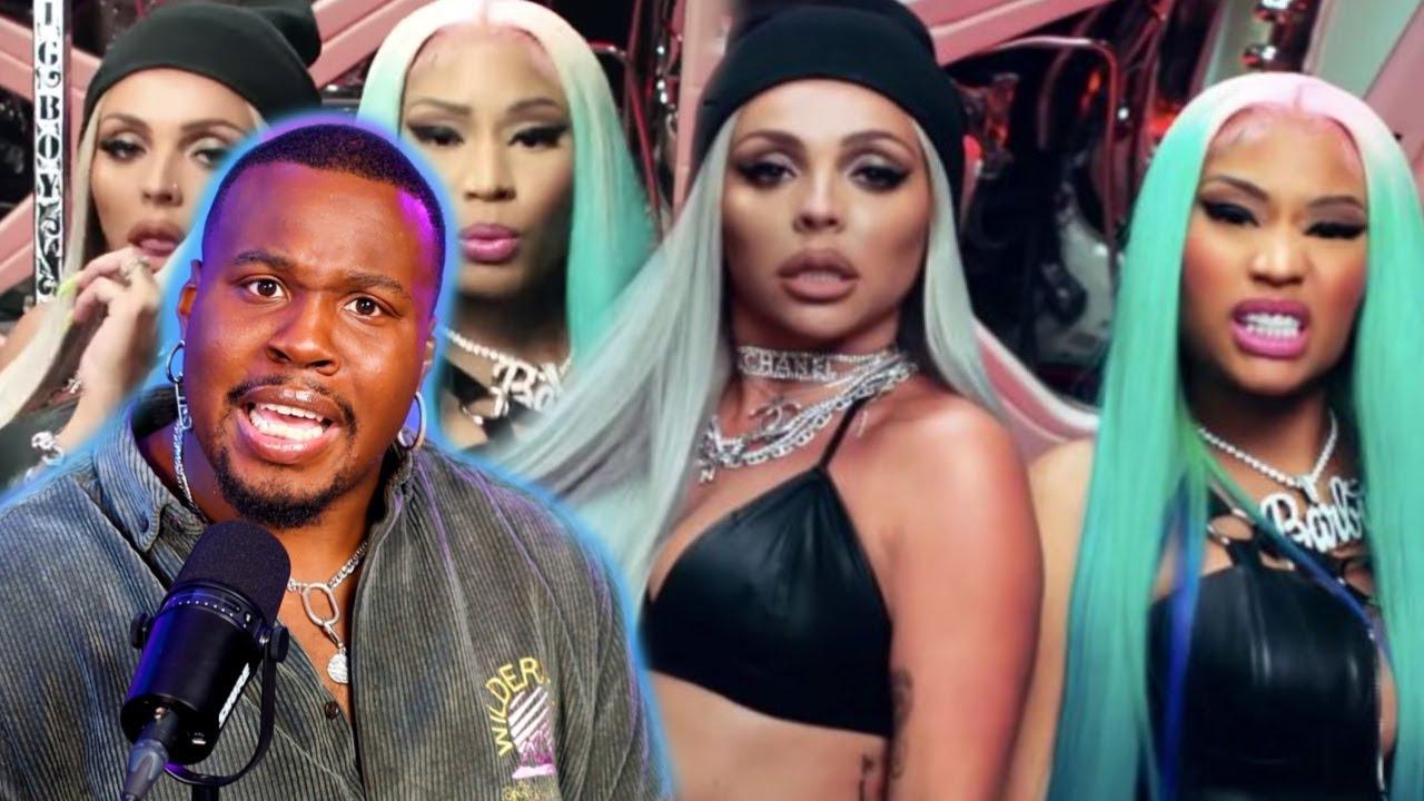 """Jesy Nelson, Nicki Minaj """"Boyz"""" REACTION!"""