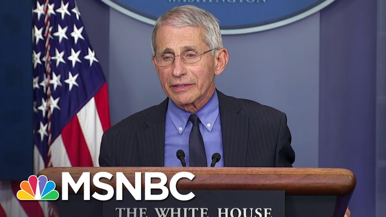Fauci Calls Out Team Trump For Using Him Out Of Context In Ad | The 11th Hour | MSNBC