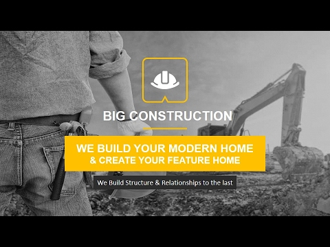 construction powerpoint presentation template - youtube, Powerpoint templates