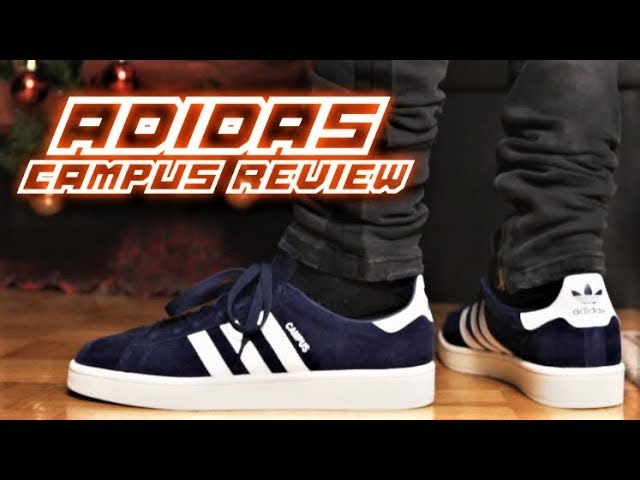 un acreedor Retrato Avanzado  Adidas CAMPUS REVIEW and ON-FEET | SneakerTalk - YouTube