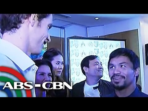 Pacquiao welcomes tennis stars to PH