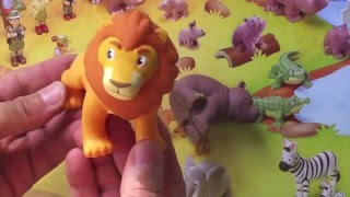 KING LEO AND THE HIPOPOTAMO Rei Leao e Hipopotamo UNPACKING LITTLE TOYS