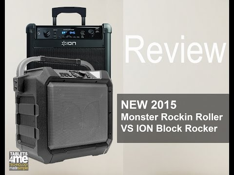 Monster Rockin Roller vs  ION Block Rocker 2015