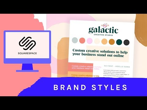 Creating a logo, choosing fonts, and designing a brand identity