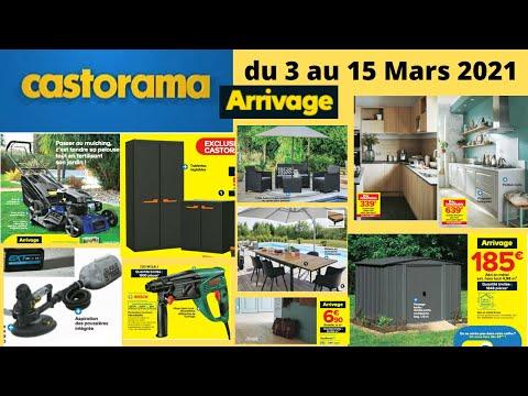 Catalogue CASTORAMA du 3 au 15 Mars 2021 : Arrivages et promotions #CASTORAMA #CATALOGUE