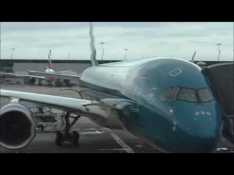 Vietnam Airlines A350XWB : Paris to Ho Chi Minh city (full flight)
