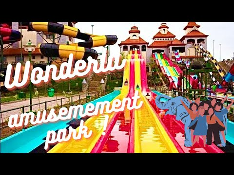 Amazing Water Slides -Wonderla Amusement Park - Bangalore, India *HD*