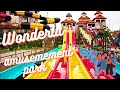 Amazing Water Slides -Wonderla Amusement Park - Bangalore, India *HD*