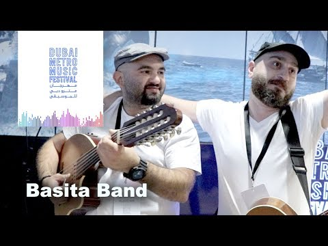 Dubai Metro Music Festival - Basita Band from Syria play Oud & Guitar