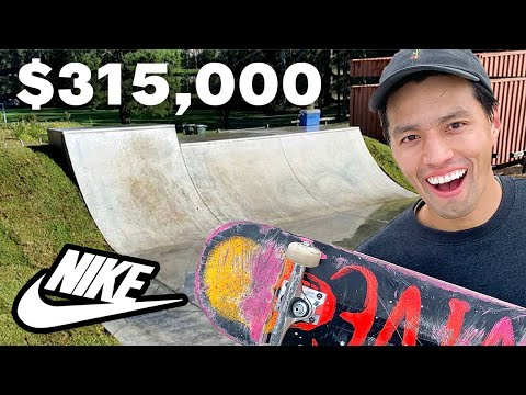 Nike Pays $315,000 Dollars For This NYC Skatepark