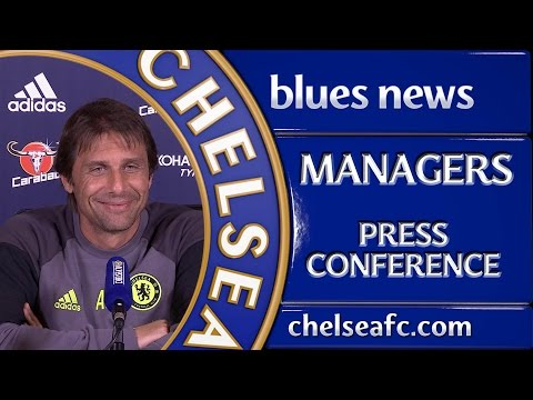 PRESS CONFERENCE: Antonio Conte speaks ahead of this weekend's fixture with Swansea