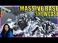 Massive Mega Tribe Base Tour (Island) - Official PvP Server - Ark: Survival Evolved