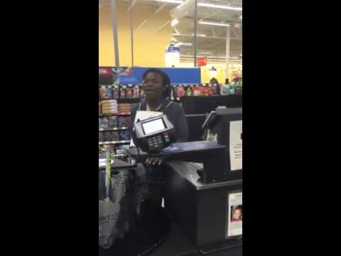 Singing in Wal-Mart