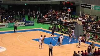 ウインターカップ2014 明成vs福大大濠 2q2 決勝 高校バスケ