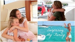 SURPRISING MY FAMILY ON HOLIDAY | Niomi Smart