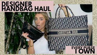 MY DESIGNER HANDBAG COLLECTION! | Lauren Elizabeth