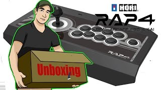 Unboxing: Fight Stick HORI Real Arcade Pro 4 para PlayStation 4