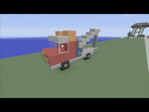 SPANKLECHANK'S Minecraft Tutorials: How to make a Tow Truck