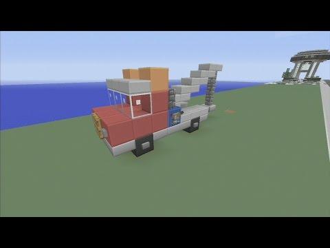 SPANKLECHANK'S Minecraft Tutorials: How to make a Tow Truck