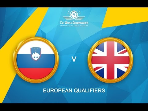 CS:GO - Slovenia vs. United Kingdom[Dust2 - Map 2] - The World Championships 2016