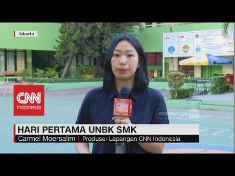 Hari Pertama UNBK SMK