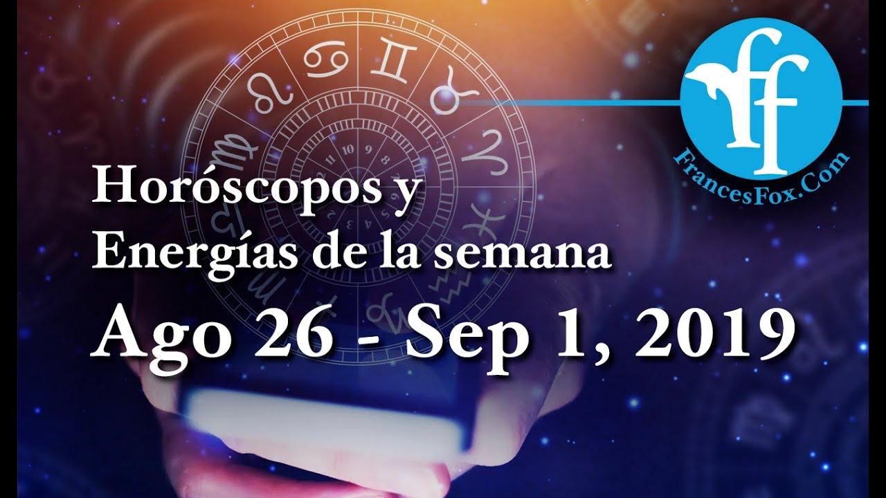 Tu Horóscopo Agosto 26 Septiembre 1 2019 Youtube Com Be Com
