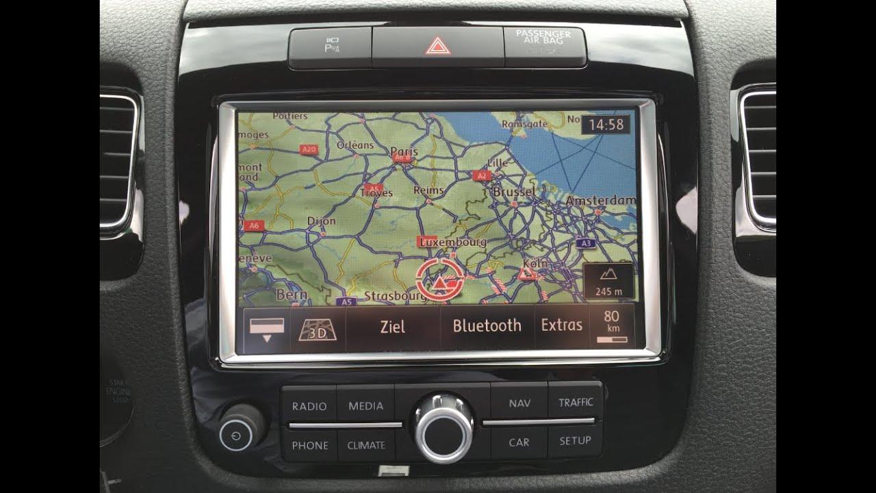 radio navigation rns 850 vw touareg alle funktionen. Black Bedroom Furniture Sets. Home Design Ideas