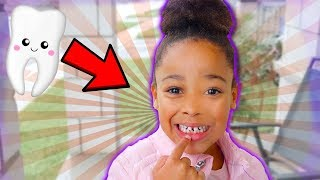 Cali Lost Her First Tooth!!