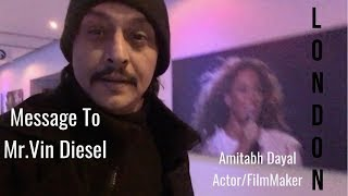 Vlog_6 By Bollywood Actor Amitabh Dayal  @Fast & Furious live show part two LONDON
