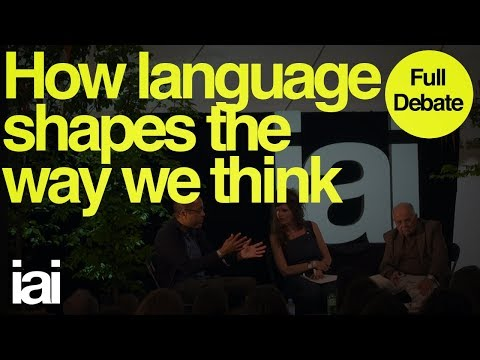How Languages Shapes The Way We Think | Full Debate | Stanley Fish, John McWhorter
