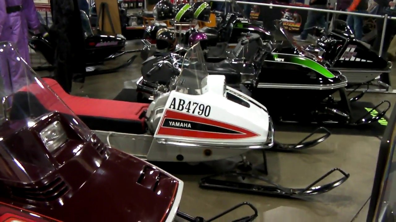 Vintage Snowmobiles and Old School Sleds - YouTube