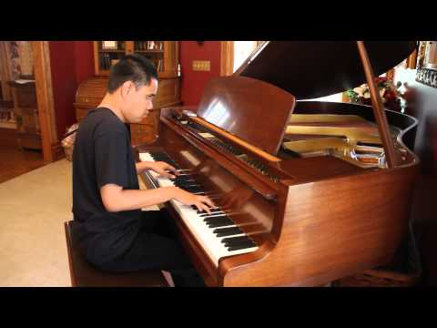 AFI - Girls Not Grey - Kuha'o Plays Piano Cover After Hearing Song Twice