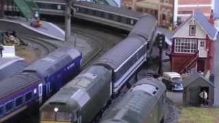 South West Region Then and Now OO Gauge Layout Hornby Bachmann FGW Great Western Railway Class 57