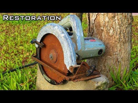 Very Old Circular Saw Restoration
