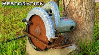 Very Old Circular Saw Restoration