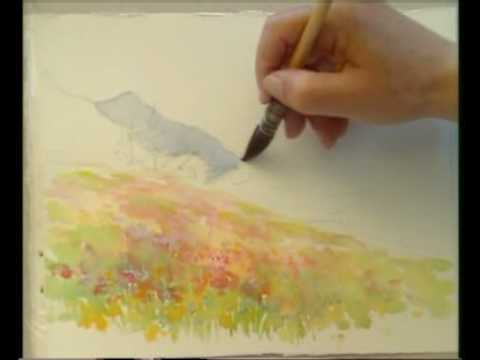 Peindre l 39 aquarelle youtube for Aquarelle maison de retraite
