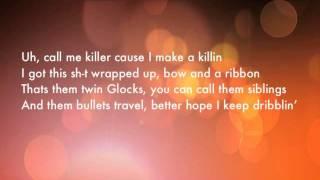 "Lil Wayne- ""Nightmares of the Bottom"" Lyrics (on screen)"