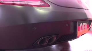 Mercedes Benz AMG C197 SLS AKRAPOVIC EXHAUST SOUND by OFFICE-K TOKYO