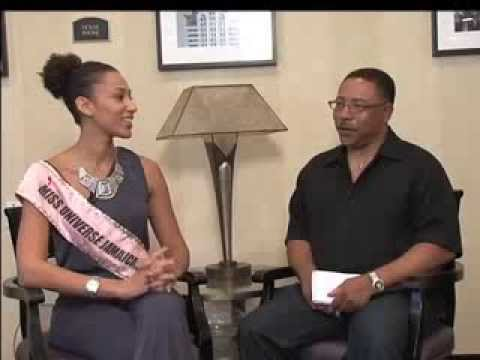 Metro Scene part 2 with Miss Universe Jamaica
