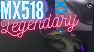 Review: Logitech MX518 Legendary. The Palm Grip King Returns!