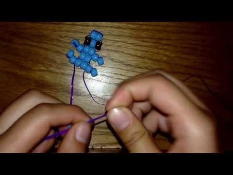 How to make a beaded baby lizard/gecko