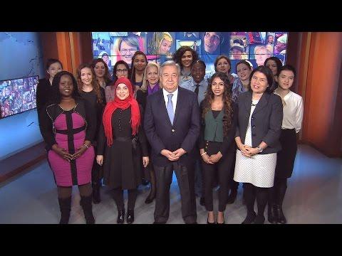 Mensaje de António Guterres por el día Internacional de la Mujer