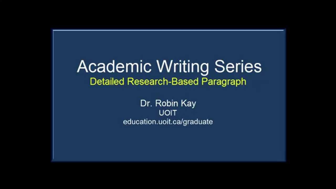 academic writing and research Navigation menu